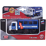 Машина ГАЗ 66 будка, милиция/полиция, свет+звук, ТЕХНОПАРК