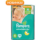 Подгузники Pampers  Active Baby-Dry Extra Large, 15+ кг., 54 шт.