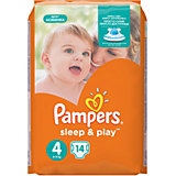 Подгузники Pampers Sleep & Play Maxi, 8-14 кг., 14 шт.