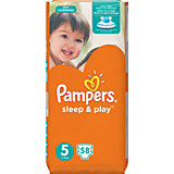 Подгузники Pampers Sleep & Play Junior, 11-18 кг., 58 шт.