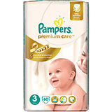 Подгузники Pampers Premium Care Midi, 5-9 кг., 60 шт.