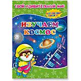 """Книжка с наклейками """"Изучаем космос"""", Твой удивительный мир"""