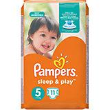 Подгузники Pampers Sleep & Play, 11-18 кг, 11 шт.