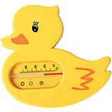 """Термометр для ванной """"Уточка"""", Kurnosiki, желтый"""