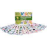 """Карточки """"Английский язык в играх: английское лото"""", Школа семи гномов"""