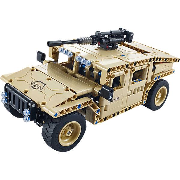 """Конструктор электромеханический """"Armed Off-road Vehicle""""  502 детали, QiHui"""