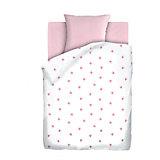 Детское постельное белье 3 предмета Непоседа, Коронки, розовый