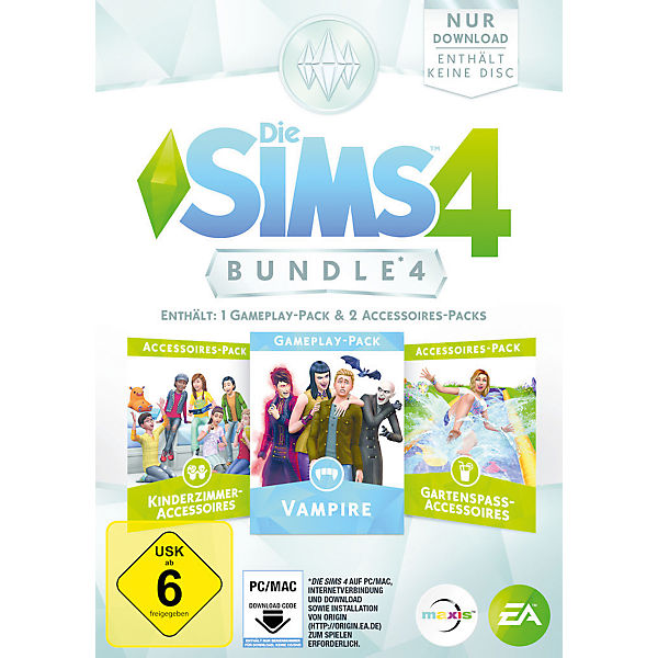 PC Die Sims 4 Bundle Pack 4 (CIAB), Electronic Arts | myToys