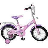 Велосипед Basic, 14 д, Navigator, розово-фиолетовый