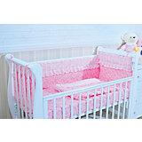 Борт в кроватку, GulSara, 18.47 розовый