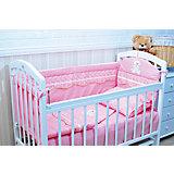 Борт в кроватку, GulSara, 18.27 розовый