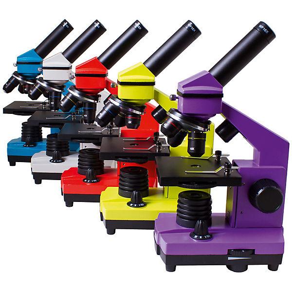 Микроскоп Levenhuk Rainbow 2L PLUS Lime\Лайм