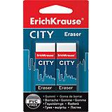 Набор из  2-х ластиков CITY (NEW), Erich Krause