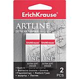 Набор из 2-х ластиков  ART LINE Extra Soft, Erich Krause
