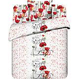 Постельное белье 1,5 сп. Очаровательная Мари Дисней поплин (нав.70х70), Твой стиль
