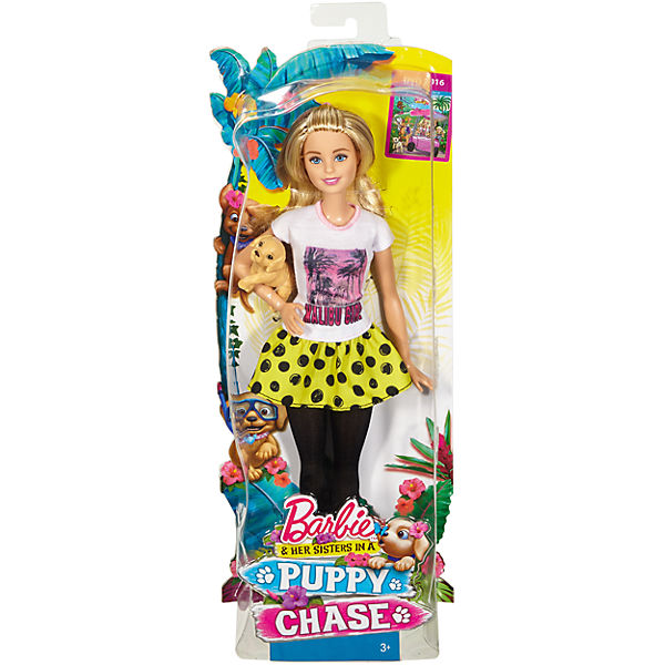 Кукла-сестра Barbie со щенками, Barbie
