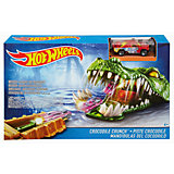 Игровой набор Crocodile Crunch, Hot Wheels