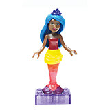 Барби: мини фигурка Rainbow Mermaid, MEGA BLOKS