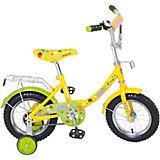 """Двухколесный велосипед """"Basic"""", зелено-желтый, Navigator"""