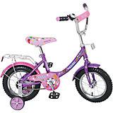 """Двухколесный велосипед """"Basic"""", розово-фиолетовый, Navigator"""