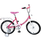 """Двухколесный велосипед """"Basic"""", розово-белый, Navigator"""