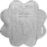 Конверт лепесток замша+хб, Wallaboo, серый