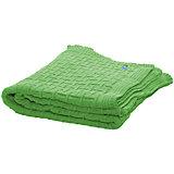 Плед хб вязаный, 70х90, Wallaboo, зеленый