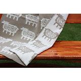 Одеяло эко-шерсть 90х130, барашки, Klippan, бежевый