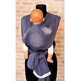 Слинг-шарф из хлопка плетеный размер s-m, Филап, Filt, джинсовый