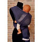 Слинг-шарф из хлопка плетеный размер l-xl, Филап, Filt, джинсовый