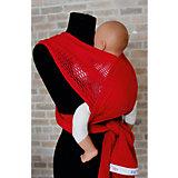 Слинг-шарф из хлопка плетеный размер l-xl, Филап, Filt, красный