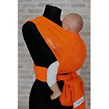Слинг-шарф из хлопка плетеный размер s-m, Филап, Filt, оранжевый