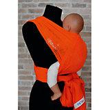 Слинг-шарф из хлопка плетеный размер l-xl, Филап, Filt, оранжевый