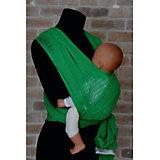 Слинг-шарф из хлопка плетеный размер l-xl, Филап, Filt, зеленый