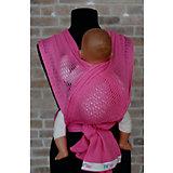 Слинг-шарф из хлопка плетеный размер l-xl, Филап, Filt, розовый