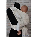Слинг-шарф из хлопка плетеный размер s-m, Филап, Filt, экрю