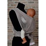 Слинг-шарф из хлопка плетеный размер s-m, Филап, Filt, серый