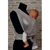 Слинг-шарф из хлопка плетеный размер l-xl, Филап, Filt, серый