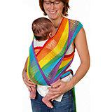 Слинг-шарф из хлопка плетеный размер s-m, Филап, Filt, радуга