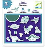Набор штампов «Динозавры», DJECO
