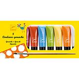 Наборы с красками Гуашь, 8 пастельных цветов, DJECO