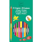 Набор из 12 двухсторонних карандашей, DJECO
