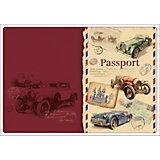 "Обложка для паспорта ""Ретро-автомобили"", Феникс-Презент"