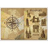 """Обложка для паспорта """"Достопримечательности"""", Феникс-Презент"""