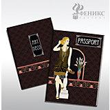 "Обложка для паспорта ""Ар-Деко"", Феникс-Презент"