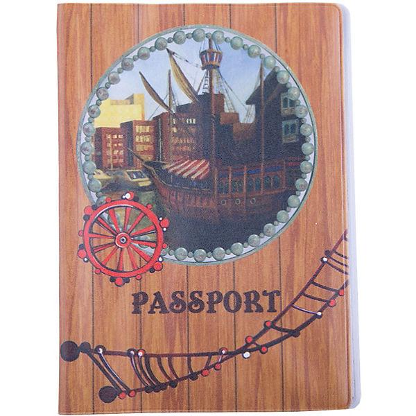 """Обложка для паспорта """"На палубе"""", Феникс-Презент"""