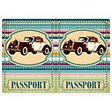 "Обложка для паспорта ""Ретро авто"", Феникс-Презент"