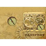 """Обложка для паспорта """"Компас"""", Феникс-Презент"""