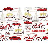 """Обложка для паспорта """"Ретро транспорт"""", Феникс-Презент"""