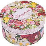 """Коробка подарочная """"Райский сад"""", 14х14х7см., Феникс-Презент"""